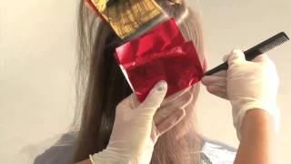 Окрашивание Гранд - видео-урок по креативному салонному окрашиванию