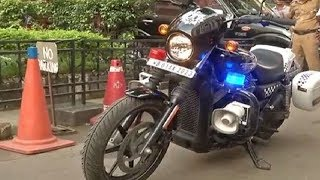 Kolkata police includes Harley-Davidson bikes in its fleet