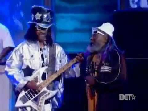 Snoop Dogg, George Clinton & Bootsy Collins Live On Stage