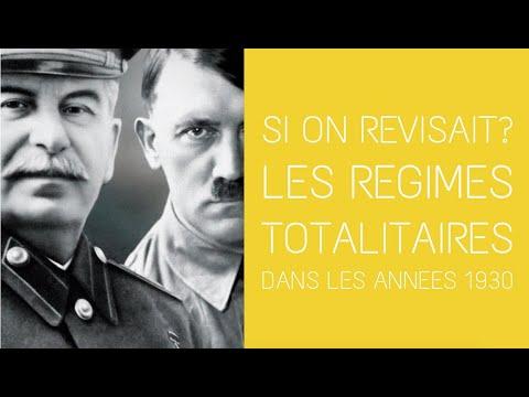 3° - Si on révisait ? Les régimes totalitaires