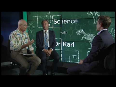 "Warwick Holmes on ABC News 24 ""Weekend Breakfast"" interview with Dr. Karl"