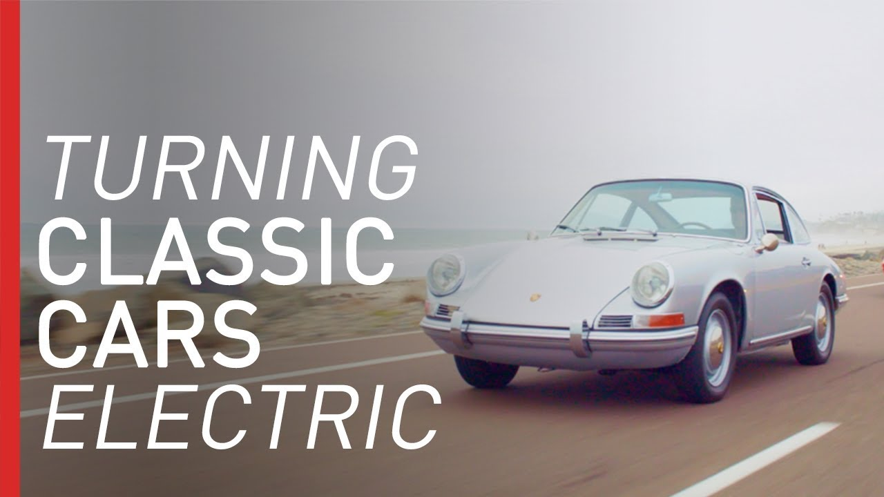 The Garage Converting Classic Cars to Electric Vehicles | Freethink DIY  Science