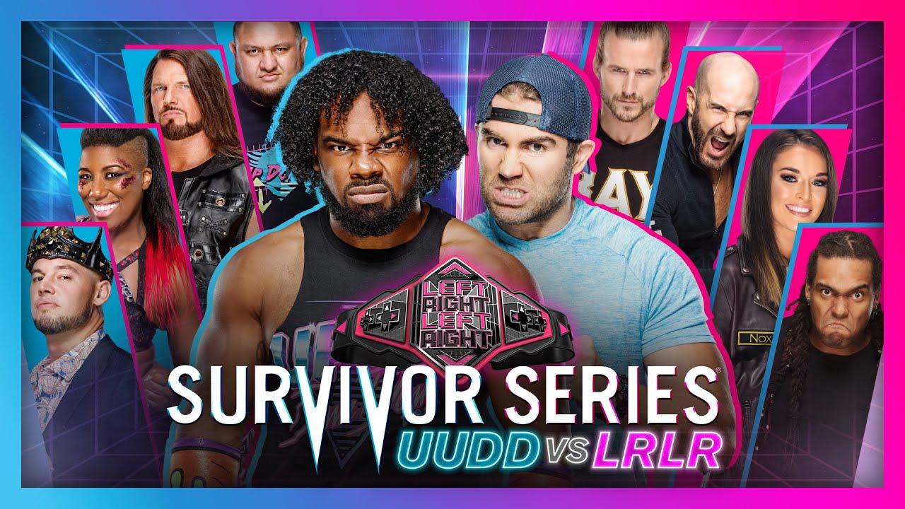 Download UUDD Survivor Series 2020 – Team UUDD vs. Team LRLR