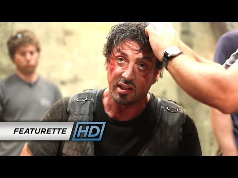 The Expendables (2010) - 'Austin Fights Stallone' Behind the Scenes Episode #4