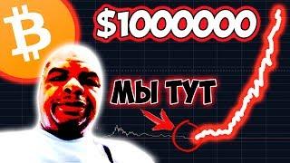 1000000 ДОЛЛАРОВ ЗА БИТКОИН! Это реально?