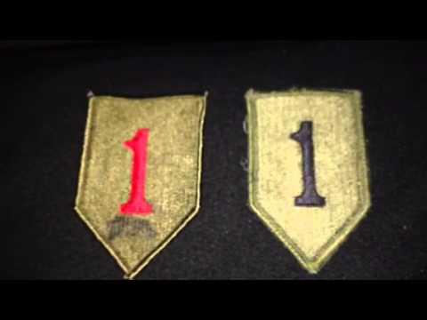 1st Infantry Patch