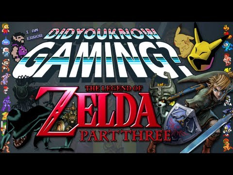 Zelda Part 3 - Did You Know Gaming? Feat. PeanutButterGamer