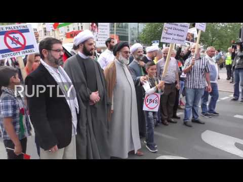 Germany: Al-Quds Day march met by counter protesters in Berlin