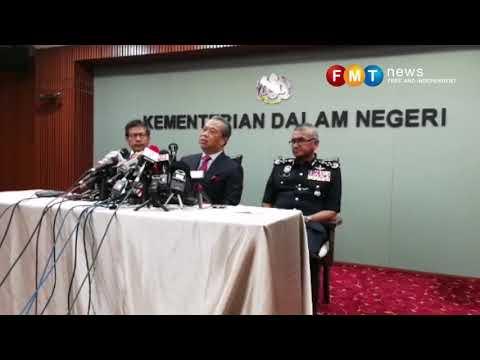 Lodge police report on threats, Muhyiddin tells MACC chief
