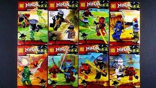 LEGO Ninjago Day of the Departed Minifigures (bootleg / knock-off) 91004
