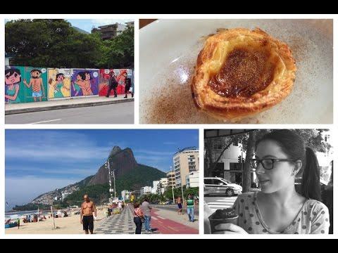 Travel Vlog #3: Ipanema Beach, Strange Meals & Exploring The City (Rio De Janeiro)