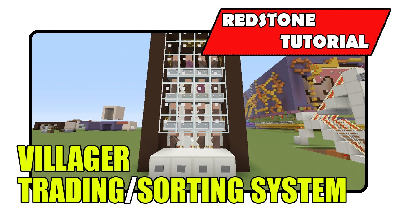 How to make a villager trading system