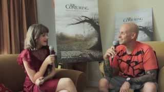 Video The Rockman Review  The Conjuring interview with Joey King download MP3, 3GP, MP4, WEBM, AVI, FLV April 2018