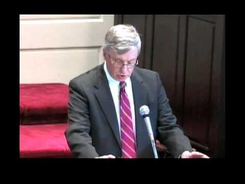 Chapel Talk - Dr. Patrick White (August 30, 2007)