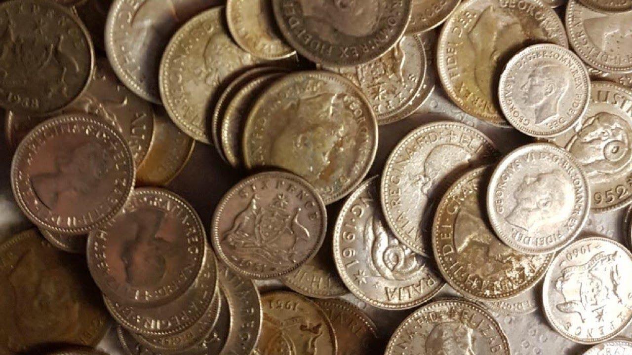 Big Silver Coin Hoard Found In Victoria Australia By 15 Year Old Boy