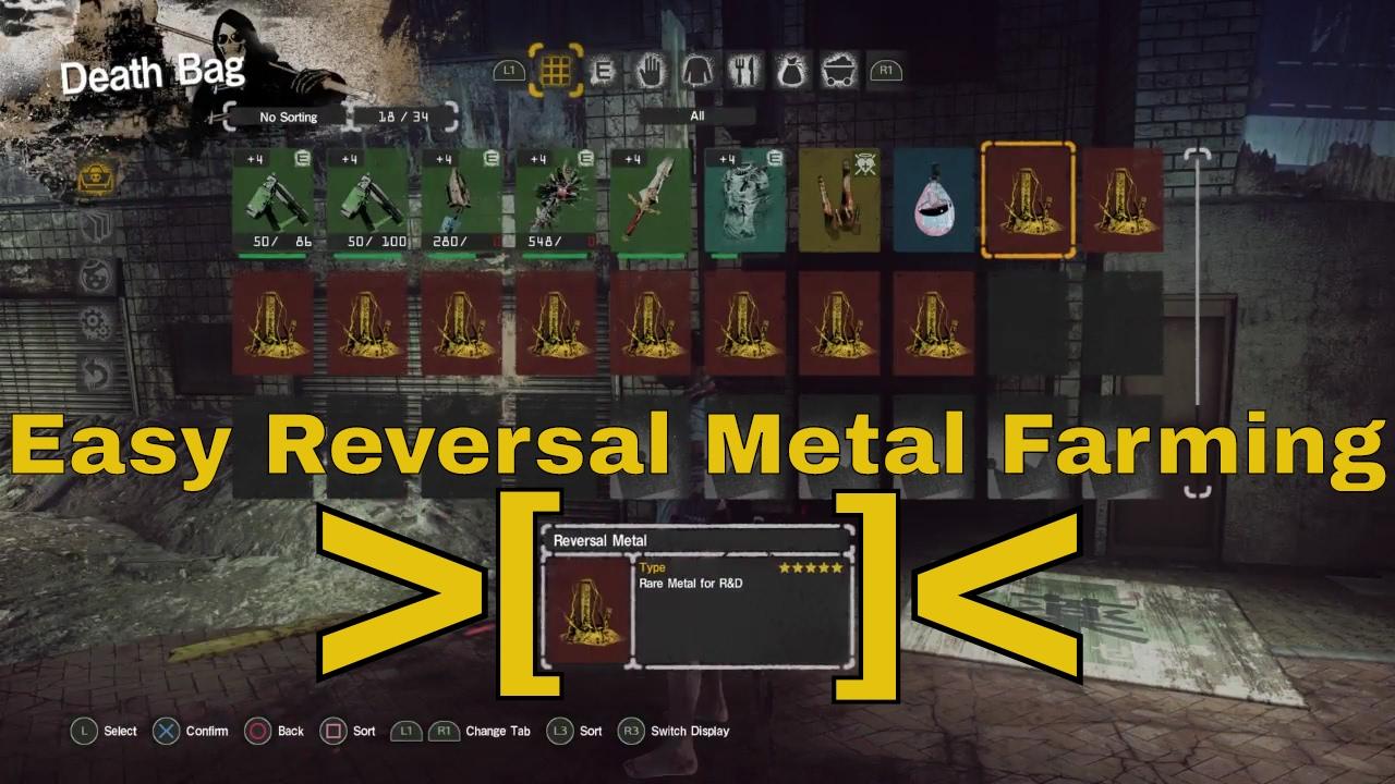Let It Die Easy Reversal Metal Farming From An Mk 2 Reversal Tuber