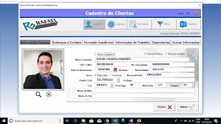 Sistema Cadastro de Clientes e Agenda 12.0 Plus+ (Download)