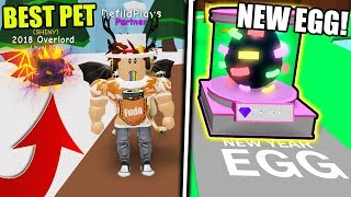GETTING THE RAREST SHINY NEW YEAR PETS IN BUBBLE GUM SIMULATOR! (Roblox)