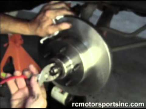 Front Drum to Disc Brake Conversion  YouTube