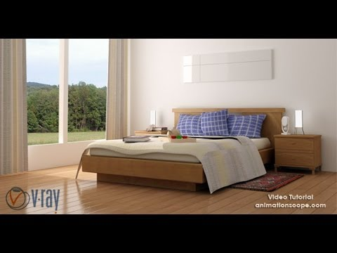 Interior Lighting In Vray 3ds Max Scene File Now Available For Download Youtube