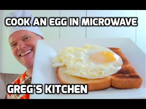 HOW TO COOK AN EGG IN THE MICROWAVE Greg's Kitchen