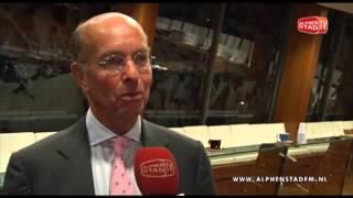 Bas Eenhoorn stopt per 31 december 2013 als burgemeester van Alphen aan den Rijn
