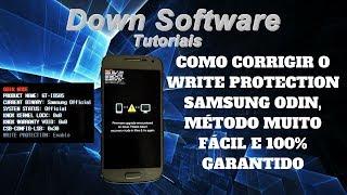Como corrigir o Write Protection Samsung Odin