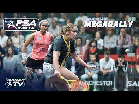 """THAT WAS A GREAT ROAR!"" - Squash MegaRally - El Tayeb v Evans"