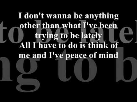 Gavin Degraw - I Don't Wanna Be (Lyrics)