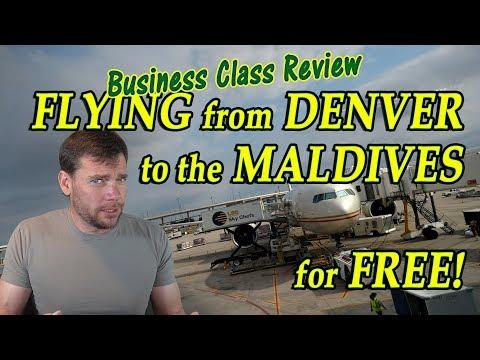 Travel Hack 011 (a) - Etihad Business Class Flight Reviews: Denver (DEN) to Maldives (MLE)