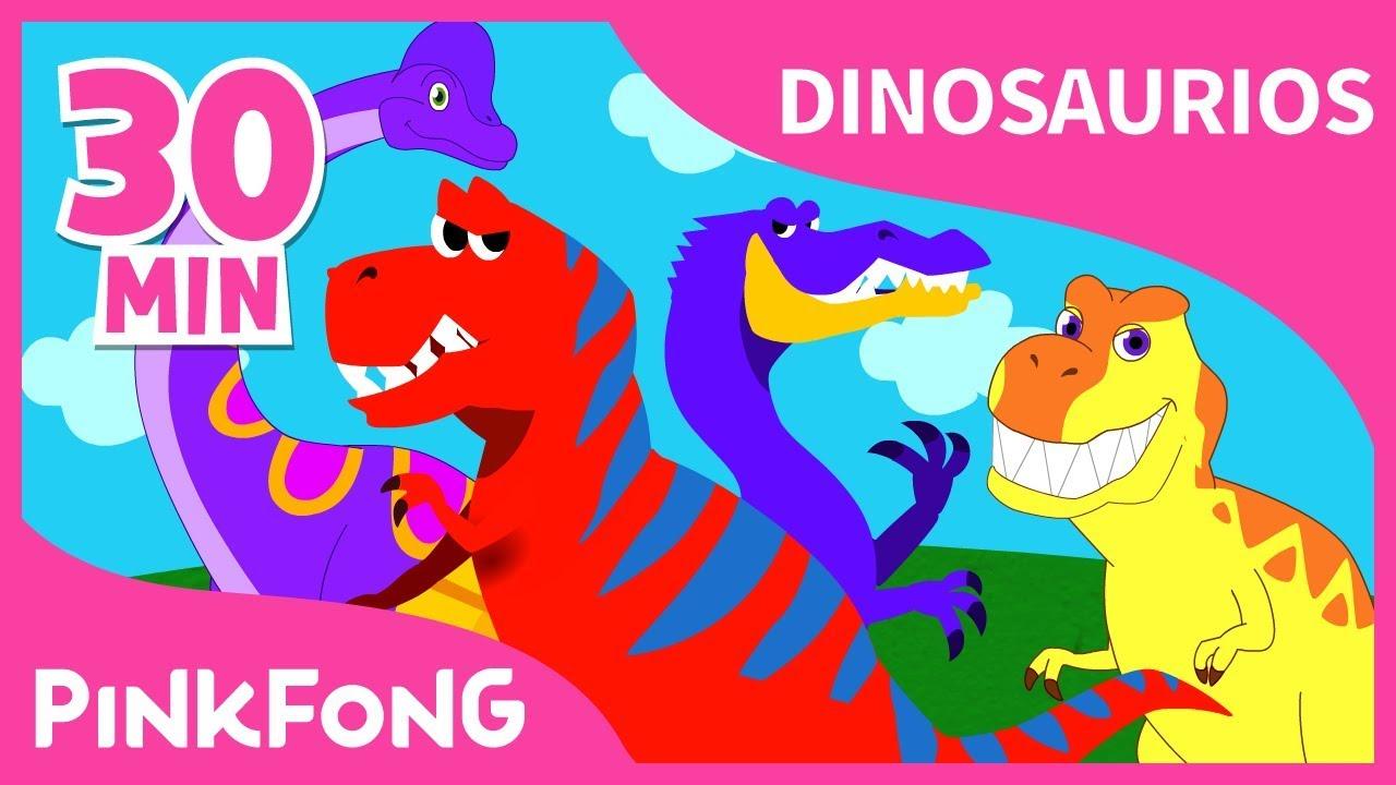 Las Mejores Canciones De Dinosaurios Recopilación Completa Pinkfong Canciones Infantiles Youtube
