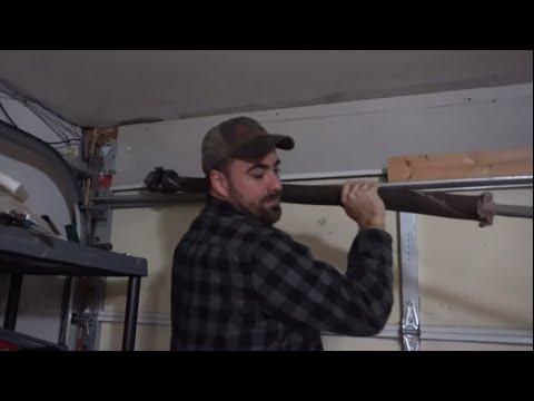 How To Replace A Broken Ez Set Garage Door Spring Homesteadhow