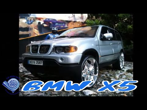CSdiecast tuning modified BMW X5 118 scale model  YouTube