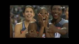 Kendra Harrison breaks 100 meter hurdles WORLD RECORD in 12.20 seconds!