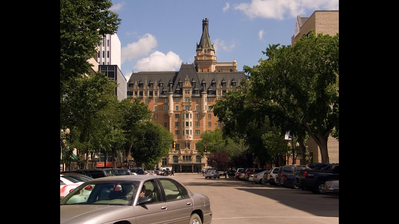 Saskatoon' Castle River - Bessborough Hotel