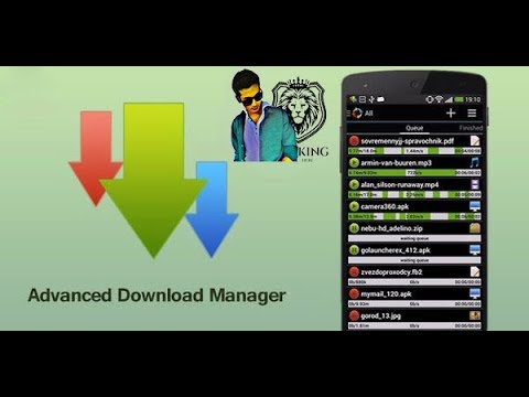 How to use Advanced Download Manager Android Apk
