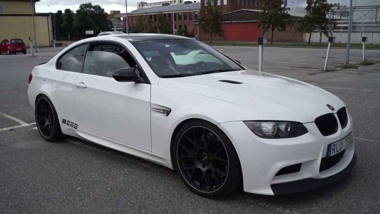 bmw m3 coupe w akrapovic exhaust youtube. Black Bedroom Furniture Sets. Home Design Ideas