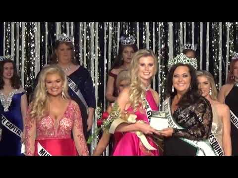 2018 Miss Magnolia State Pageant crowning video