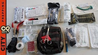 How to build a gunshot wound kit