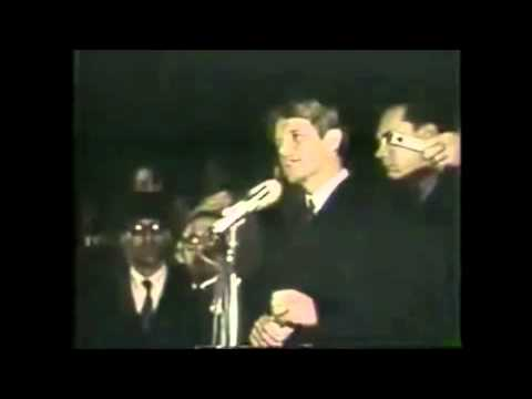 RFK - Quoting Aeschylus on the loss of Martin Luther King, Jr.
