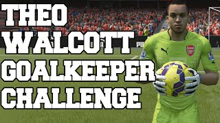 THEO WALCOTT IN GOAL! FIFA 15 ULTIMATE TEAM THEO WALCOTT GOALKEEPER CHALLENGE Thumbnail