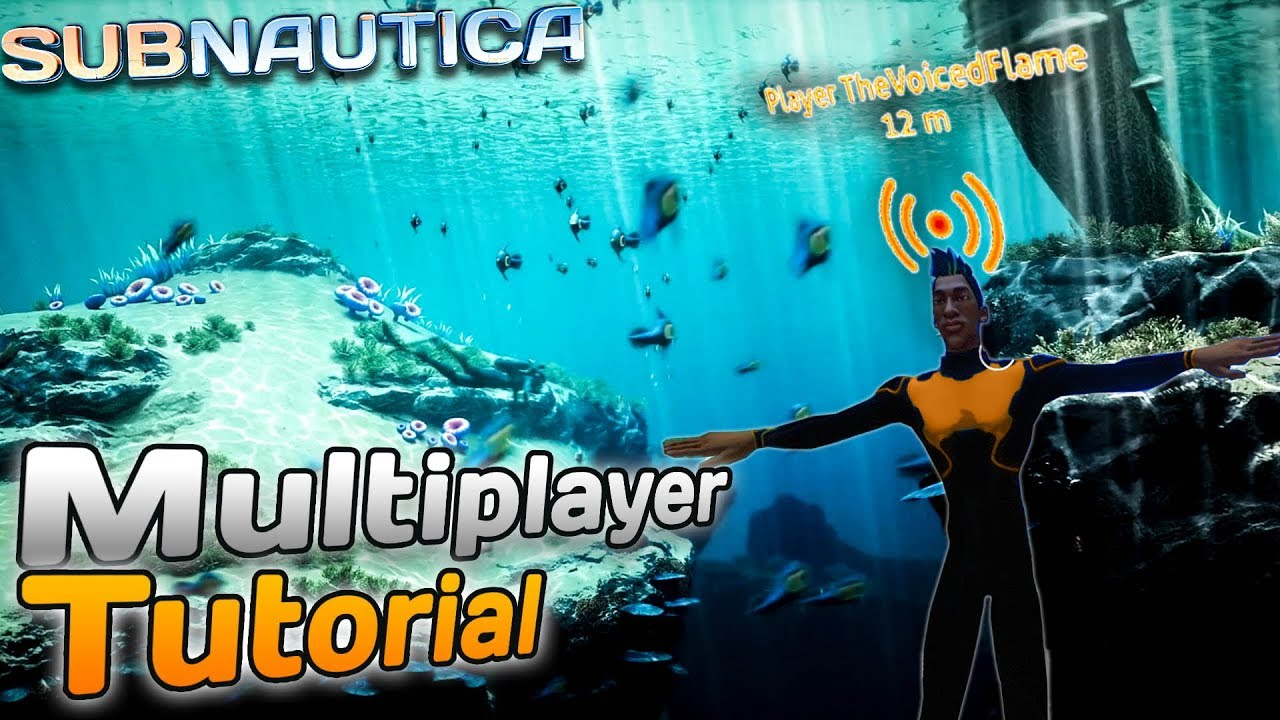 Subnautica MULTIPLAYER server tutorial! (Easy version) - Subnautica Nitrox  Mod