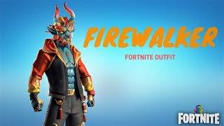 Fortnite - Firewalker Rare Outfit - New Item Shop Skin