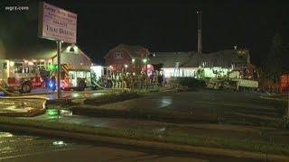 Overnight Fire Tears Through Depew Restaurant