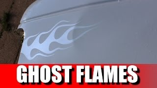 how to airbrush ghost flames with pearls