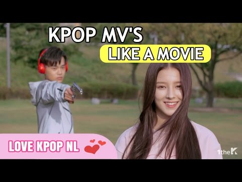 20 K-POP MUSIC VIDEOS THAT ARE LIKE A MOVIE