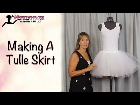 How To Make A Skirt With Tulle
