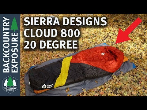 Sierra Designs Cloud 800 20 Degree Sleeping Bag Review
