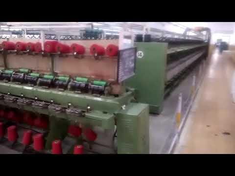 Modern Woollen Textile Mill Threads process