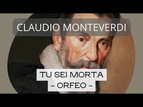 Antonio Santos - Tu sei morta - L´Orfeo, Acto 2 - C. Monteverdi (1567 - 1643)